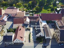 Ferienwohnung Franken, budget hotel in Fürth