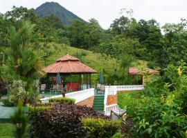 Arenal Waterfall Lodge, hotel en Fortuna