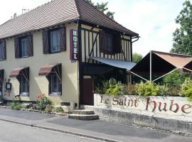 le saint Hubert、Arcis-sur-Aubeのホテル