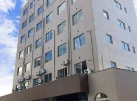 ホテル徳山ヒルズ平和通り店、周南市のホテル