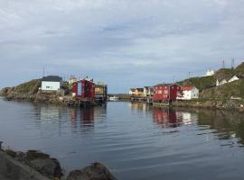 Rooms in the coastal fishing village Nyksund, hotel in Nyksund
