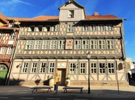 Hotel Alte Brennerei, hotelli kohteessa Wernigerode