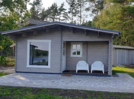 OZO RiverSide wooden cottage in Jurmala, vacation home in Jūrmala