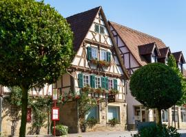 Pension Amthof, Privatzimmer in Oberderdingen