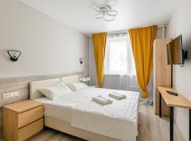 RentWill Borovskoe 137-4, hotel near Novoperedelkino Metro Station, Lukino