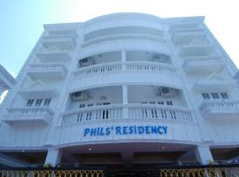 Phils' Residency & Banquets, hotel near National Shrine Basilica of Our Lady of Ransom, Cochin