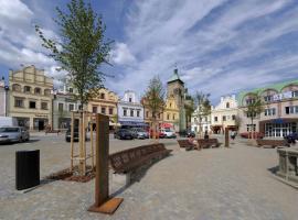 Hotel U Zlatého Lva, hotel in Havlíčkŭv Brod