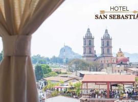 Hotel San Sebastian, hotel en Valle de Bravo