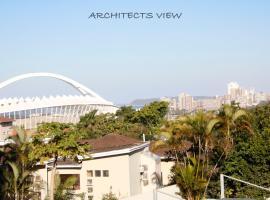 ARCHITECT'S VIEW, hotel near Moses Mabhida Stadium, Durban