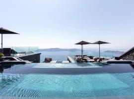 Kivotos Santorini, хотел в Имеровигли
