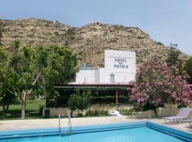 Hotel Neos Matala, family hotel in Matala