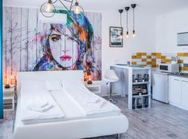 Jázmin Apartman, hotel a Hagymatikum Fürdő környékén Makón
