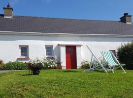 Teach Fada Red Door Cottage, hotel near Malin Head, Ballyhillin