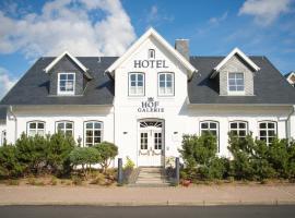Hotel Hof Galerie, Hotel in Morsum