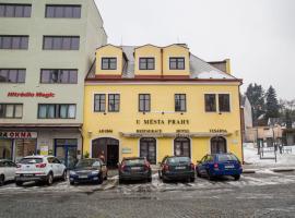 Hotel u města Prahy, hotel a Náchod