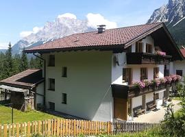 Haus Gerda, family hotel in Biberwier