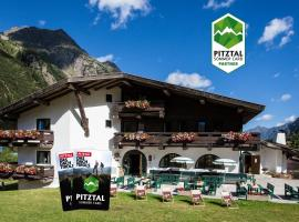 Natur Residenz Anger Alm - Adults only, hotel in Sankt Leonhard im Pitztal