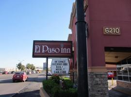 El Paso Inn TX - Airport, motel in El Paso