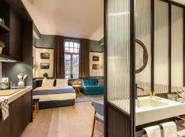 Getaway Studios Gent, accessible hotel in Ghent