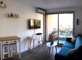 Studio moderne avec balcon au cœur du centre ville, apartment in Sainte-Maxime
