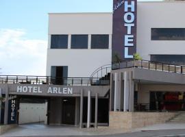 Hotel Arlen, hotel in Pouso Alegre