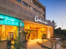 Ambassador Hotel, hotel in Jerusalem