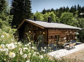 Wochenbrunner Alm Ferienhütten, cabin in Ellmau