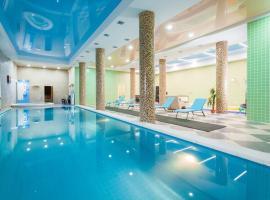 Triumph Hotel, hotel with jacuzzis in Krasnodar