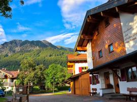 Landhaus Am Schelmenhag 13a, country house in Oberstdorf