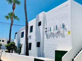 Apartamentos Zalabar, serviced apartment in Tías