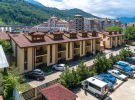 Mountain Villas, viešbutis mieste Estosadok, netoliese – Slidinėjimo keltuvas A2