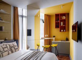 IQ-апартаменты в Москва-Сити, apartment in Moscow