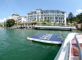 Hotel Lido Seegarten, hotell i Lugano
