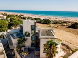 Hotel Boutique Aroma de Mar, hotell nära Playa La Barrosa, Novo Sancti Petri
