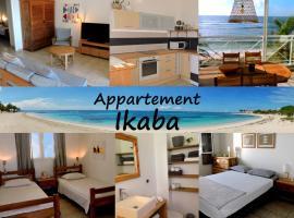 Appartement sur la plage, avec vue panoramique sur le lagon - IKABA, apartment in Saint-François