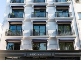 MEG HOTEL, отель в Стамбуле, в районе Фатих