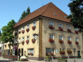 Brauereigasthof Bären, hotel in Titisee-Neustadt