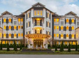 Le Thatluang D'oR Boutique Hotel、ビエンチャンのホテル