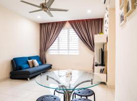'A'ffordable Spacius Apartment@Penang, apartment in Bayan Lepas