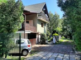 Willa Wadowicka, hotel with parking in Wadowice