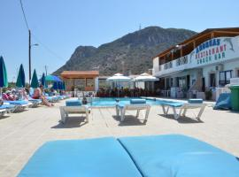 Andreas Apartments, hotel with pools in Kefalos