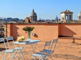 The Terrace, apartment in Rome