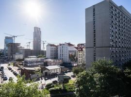 VipWarsawApartments Amethyst Diamond Sapphire Mennica Residence – niedrogi hotel w Warszawie