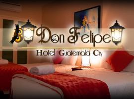 Hotel Don Felipe, hotel in Guatemala