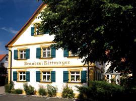 Landgasthof Hotel Rittmayer, Hotel in Hallerndorf
