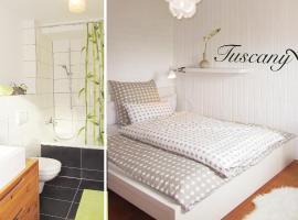 Apartment Tuscany mit Sonnenterrasse, Hotel in Reutlingen