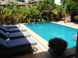 Spacious ocean view pool villa, haustierfreundliches Hotel in Ko Samui