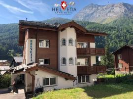 Helvetia Apartments, hotel near Alpin Express, Saas-Fee