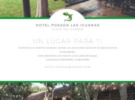 Hotel Posada Las Iguanas, hotel near Kool Beach Club, Playa del Carmen
