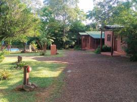 Estrella del Monte, complejo de cabañas en Puerto Iguazú